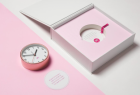New Zealand Public Service Association: Office Stationery for Women - Clock