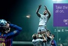 BT Sport: Messi Lineout