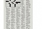 Alzheimer's Foundation: The Hardest Crossword - Marie's Crossword