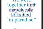 Newcastle Writers Festival: We Were Together in Paradise