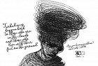 Doodle Heads - NGO NANIVEL CVV Cascavel: Turbulences happen both to those who are in the clouds and those who live with their feet on the ground.