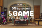 Optus: 5G Explained by 5Game Characters