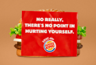 Burger King: No Really, There's No Point In Hurting Yourself