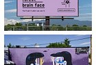 Vancouver Mural Festival: You'll get it when you see it: Brain face