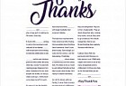Cadbury Dairy Milk: Fill In The Thanks, 2