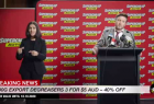 Supercheap Auto: Press Conference One