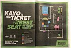 Kayo Sports: The Home Stadium Seating Map