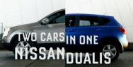 Nissan DUALIS: Two Cars in One