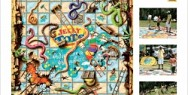Jelly Tots: Snakes and Ladders
