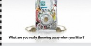 Anti-litter campaign: iPod