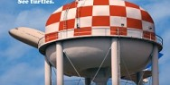 New England Aquariam: Water tower