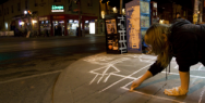 The Grid: Chalk Art Project