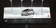 Mitsubishi i-Miev: iMiEV Electric Billboard