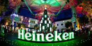 Heineken: Social Christmas Tree