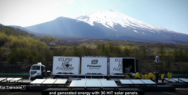 Panasonic: Eclipse live from Fujiyama by Solar Power