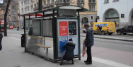 Norwegian Airlines: Street posters and subway