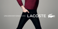 LACOSTE: Red Polo