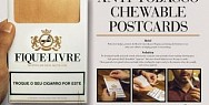 Bem Ser - Integrative Health: Anti-Tobacco Chewable Postcards