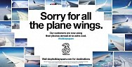 Three Mobile: Sorry for all the Plane Wings