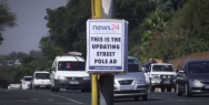 News24: The Updating Street Pole Ad