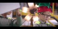 Air New Zealand: Santa's Workshop
