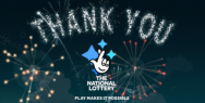 National Lottery: Thank You
