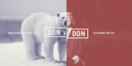 DonVsDon: Every time you Donate, Donald get less
