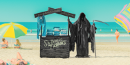 Water Safety New Zealand: The Swim Reaper: Swimming Trunks