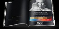 Gillette: #BabyFace - The sandpaper print ad