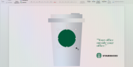 Starbucks: Your office outside office, PowerPoint