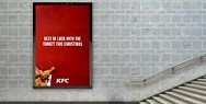 KFC:  Best of Luck With the Turkey This Christmas