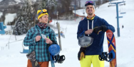 New York Lottery: Snowboarding Bros