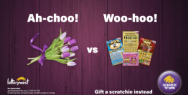 Scratch 'N' Win: Flowers