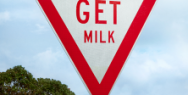 Auckland Transport: Distracted Road Signs - Get Milk