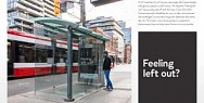 Centre for Independent Living / The City of Toronto: The Inaccessible Transit Shelter