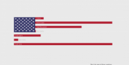 #StayHome: USA flag converter into Covid-19 Big Data