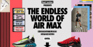 Foot Locker: The Endless World of Air Max: A Google Slides Experience